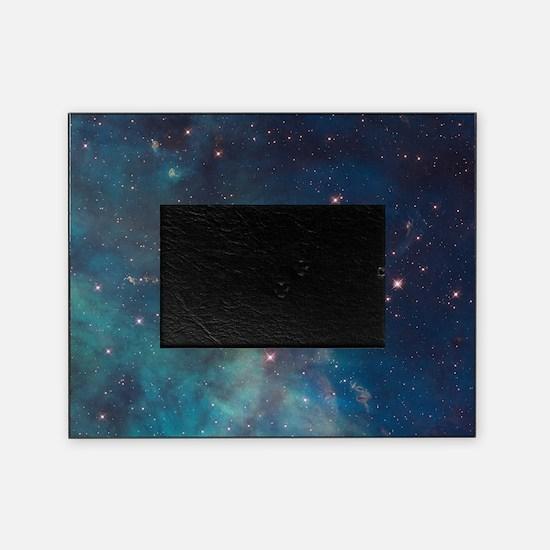 Stellar Jet in Carina Nebula Picture Frame