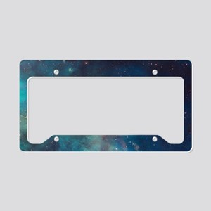 Stellar Jet in Carina Nebula License Plate Holder