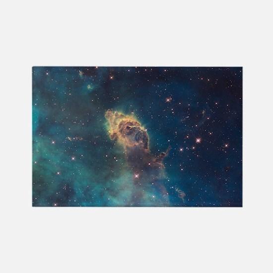 Stellar Jet in Carina Nebula Rectangle Magnet