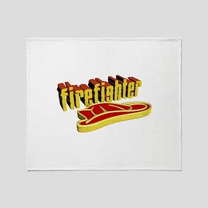 FIREFIGHTER Throw Blanket