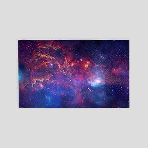 Galactic Center Region 3'x5' Area Rug