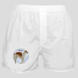 Borzoi Portrait Boxer Shorts