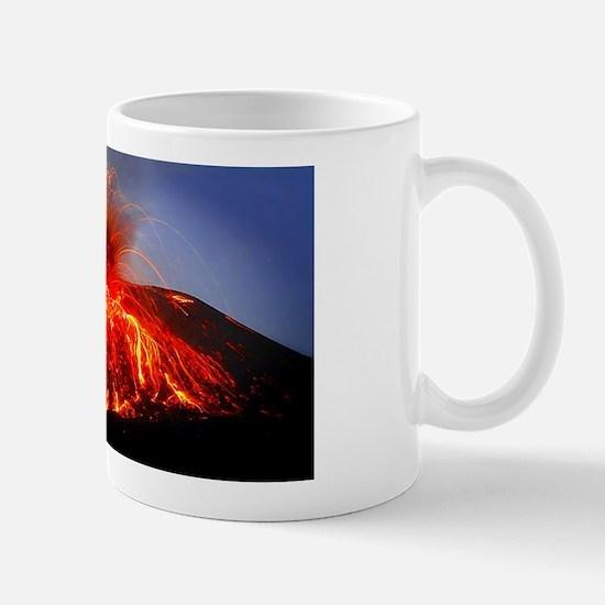 Krakatoa Volcano Hawaii Mug Mugs