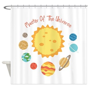 Uranus Shower Curtains