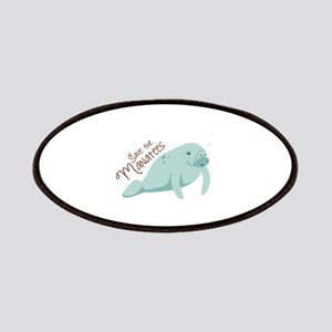 Save The Manatees Patches