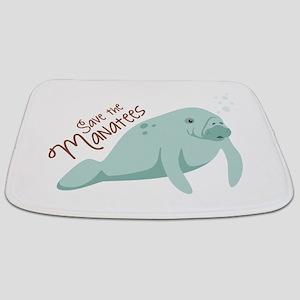 Save The Manatees Bathmat