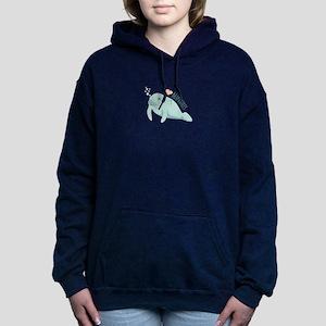 I love Manatees Hooded Sweatshirt