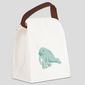 HUG ME! Canvas Lunch Bag