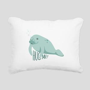 HUG ME! Rectangular Canvas Pillow