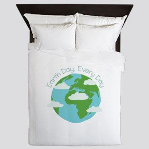 Earth Day,Every Day Queen Duvet