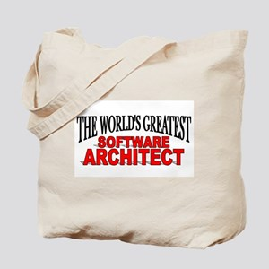 """""""The World's Greatest Software Architect"""" Tote Bag"""