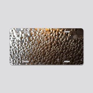 water drops Aluminum License Plate