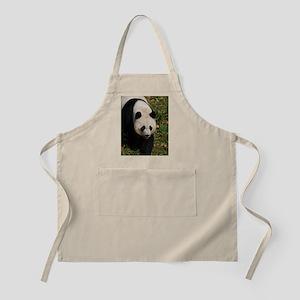 Giant Panda Bear Strutting His Stuff Apron