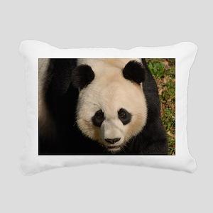 Cute Black and White Pan Rectangular Canvas Pillow