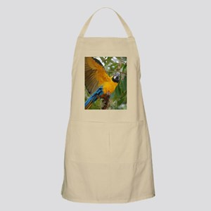 Macaw Parrot with Wings Extended Apron