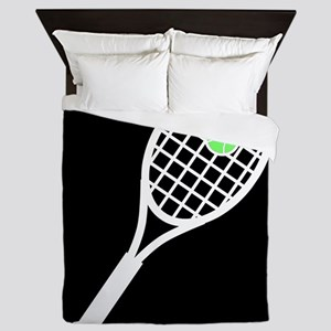 Tennis Racket Queen Duvet