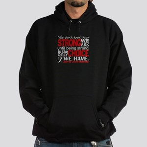 Carcinoid Cancer How Strong We Are Hoodie (dark)