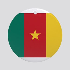 Cameroon Flag Ornament (Round)