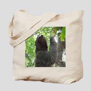 Tree Climbing Sloth Tote Bag