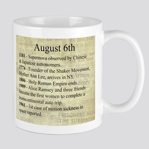 August 6th Mugs