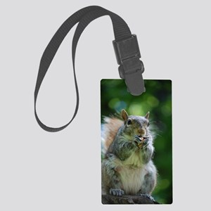 Friendly Squirrel Large Luggage Tag