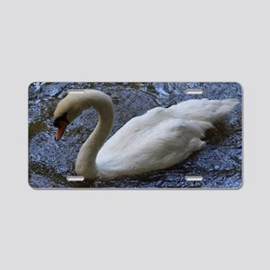 Swan Lake Aluminum License Plate