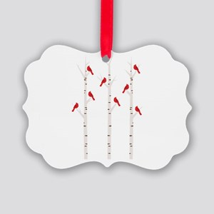 Cardinals in Trees Ornament