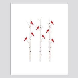 Cardinals in Trees Posters