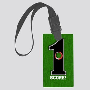 Customized Lucky Golf Hole in On Large Luggage Tag