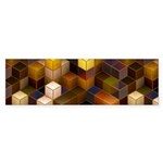 SteamCubism - Brass Sticker (Bumper 50 pk)