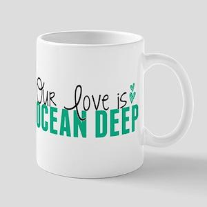 Our Love Is Ocean Deep Mugs