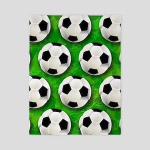 Soccer Ball Football Pattern Twin Duvet