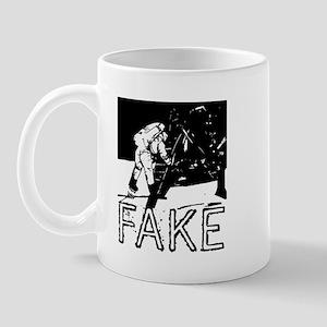 Moon Landing Hoax Conspiracy Mug