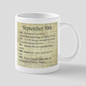 September 30th Mugs