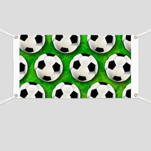 Soccer Ball Football Pattern Banner