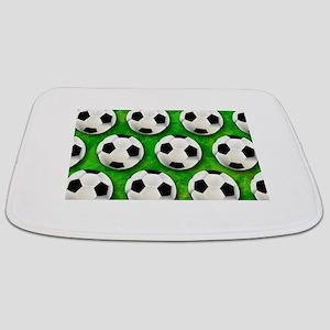 Soccer Ball Football Pattern Bathmat