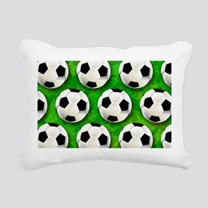Soccer Ball Football Pattern Rectangular Canvas Pi