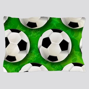 Soccer Ball Football Pattern Pillow Case