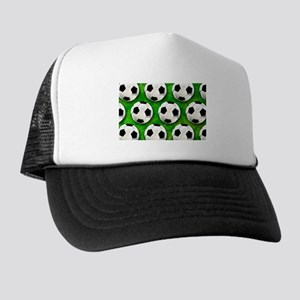 Soccer Ball Football Pattern Trucker Hat