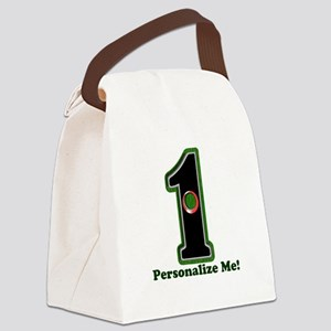 Customized Lucky Golf Hole in One Canvas Lunch Bag