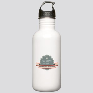 Go Gray In May Stainless Water Bottle 1.0l