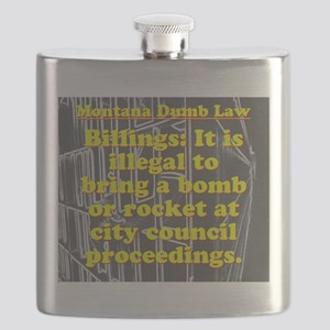 Montana Dumb Law 005 Flask