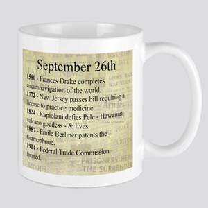 September 26th Mugs