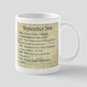 September 26th Mugs