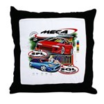 Throw Pillow w/MECA Classic T Graphic