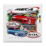 Tile Coaster w/MECA Classic T Graphic
