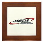 Framed Tile w/MECA Club Logo