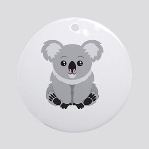 Cute Koala Bear  Round Ornament