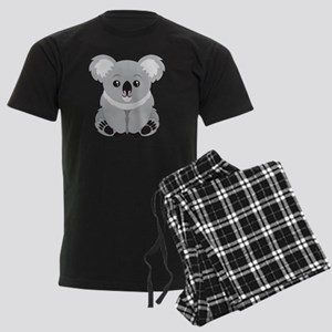 Cute Koala Bear  Men's Dark Pajamas