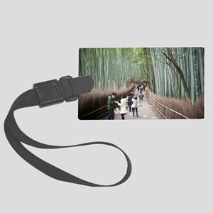Bamboo Forest Large Luggage Tag